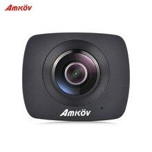 AMKOV AMK200S Panorama Double Objectif WiFi Action Sport Caméra 960 P LCD Écran Fente Pour Carte TF