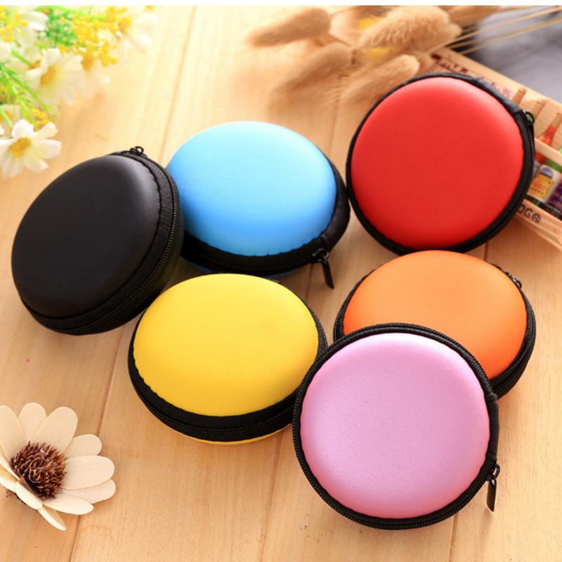 Earphone Cases Bags Carrying Hard Earbuds Case For Earphone Headphone Accessories Cover Memory Card USB Cable Storage Box