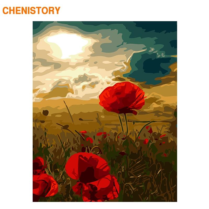 Купить картина по номерам на холсте с рамкой и цветами
