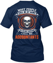 Accountants Standard Unisex T-Shirt  New T Shirts Funny Tops Tee High Quality Casual Printing freeshipping