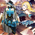Lovelive! Cosplay Love Live Ayase Eli Ocupação Despertar Ladrão Cos Anime Traje Festa de Halloween Cosplay Uniforme