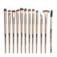 цена на Makeup Brushes Set Professional Makeup Brushes Set Eye Shadow Blending Eyeliner Eyelash Eyebrow Brush For Makeup Tool 12 pcs