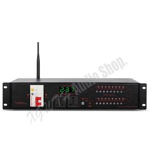Image 2 - Pro Karaoke Audio System dźwięku DJ 16 kanałowy bezprzewodowy filtr wielofunkcyjny sekwencji mocy zasilania sterownika kontroler rozrządu