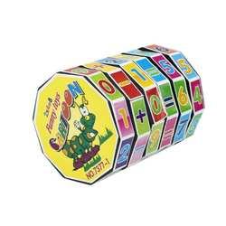 Пластиковый цифровой магический куб детский цилиндр Математика сложение вычитание расчет обучающая игрушка для детей раннего
