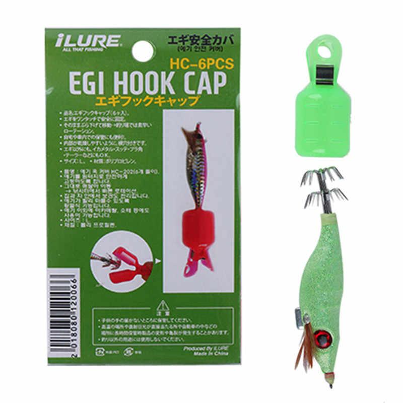 Hooks Covers  Fishing Treble Hooks Jig Squid Umbrella Hook Hat  Caps Protector