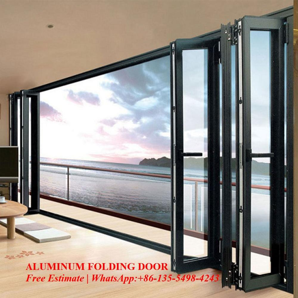 Glass Folding Door/Aluminium Double Glazed Windows And Doors Comply With Australian & New Zealand Standards
