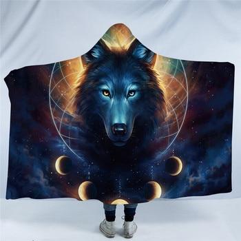 Microfiber Dream Catcher Hooded Blanket 2