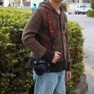 Image 5 - Kaliou Style ethnique appareil Photo sangle colorée coton Yard motif sangle de cou DSLR bandoulière bandoulière pour Canon Nikon Sony stylo