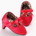 Bebês Sapatos Para Bebê Menina Bebê Mocassins Sapatos Mocassins Criança Sapatos Fundo Macio sapatos de Salto Alto Para Crianças XUE001LL