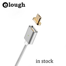 Elough Automatic adsorption Micro USB Magnetic Cable For Xiaomi Huawei Charging For Samsung Mobile Phone Magnet Micro USB Cable