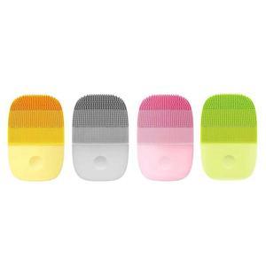 Image 3 - Youpin inface instrumento de limpeza profunda limpar sônico acne esfoliante beleza facial rosto cuidados com a pele massageador elétrico