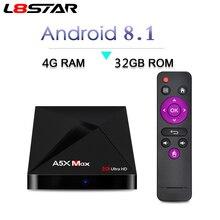 L8STAR A5X MAX font b Android b font 8 1 4GB 32GB font b TV b