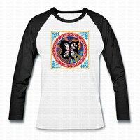 Kiss Vintage T Shirt Hip Hop Camisetas Casual Full Sleeve O Neck Rock N Roll Punk