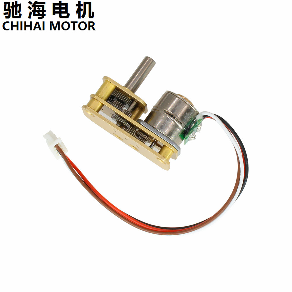 ChiHai Motor CHS-GM1024-10BY 2 phase 4 wire Stepper Gear Motor 39 Ohm DC 5.0V Intelligent Pan Head Instrument Robot MotorChiHai Motor CHS-GM1024-10BY 2 phase 4 wire Stepper Gear Motor 39 Ohm DC 5.0V Intelligent Pan Head Instrument Robot Motor