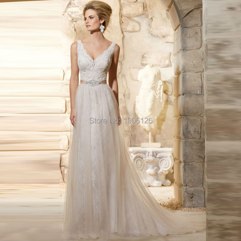 Online get cheap simple fall wedding dresses aliexpress for Simple inexpensive wedding dresses