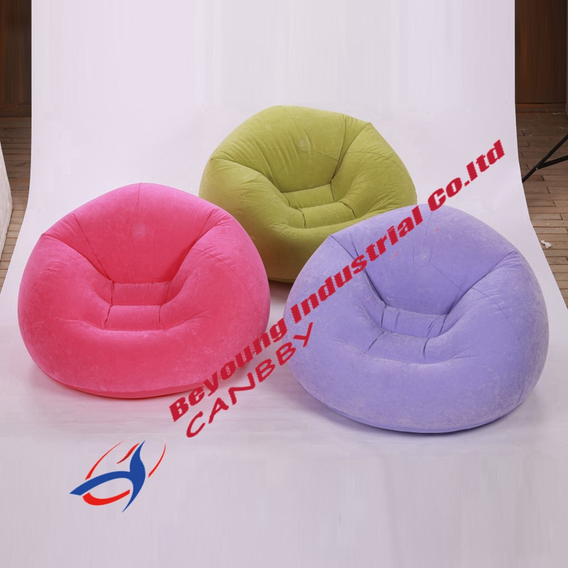 Intex Beanless Bag Chair Inflatable Single Person Bean Bag Chairs/couch For Adult Teens,3 Assorted Color To Ensure Smooth Transmission