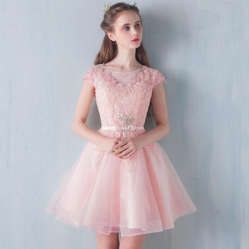 Popular Champagne Pink Prom Dresses-Buy Cheap Champagne Pink Prom ...