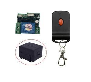 Image 2 - DC 24 v 1CH ミニ RF ワイヤレスリモート制御光スイッチ学習コード受信機 + トランスミッタ 315/433MHZ