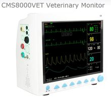 Veterinary Monitor CE&FDA CONTEC CMS8000VET Multi-parameter Veterinary Patient Monitor for Animals free shipping