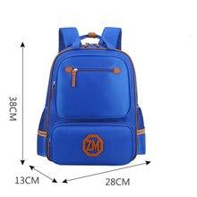 2017 Fashion Orthopedic School Bags In Primary School for Boys Children Waterproof schoolbag mochila escolar Schoolbags student