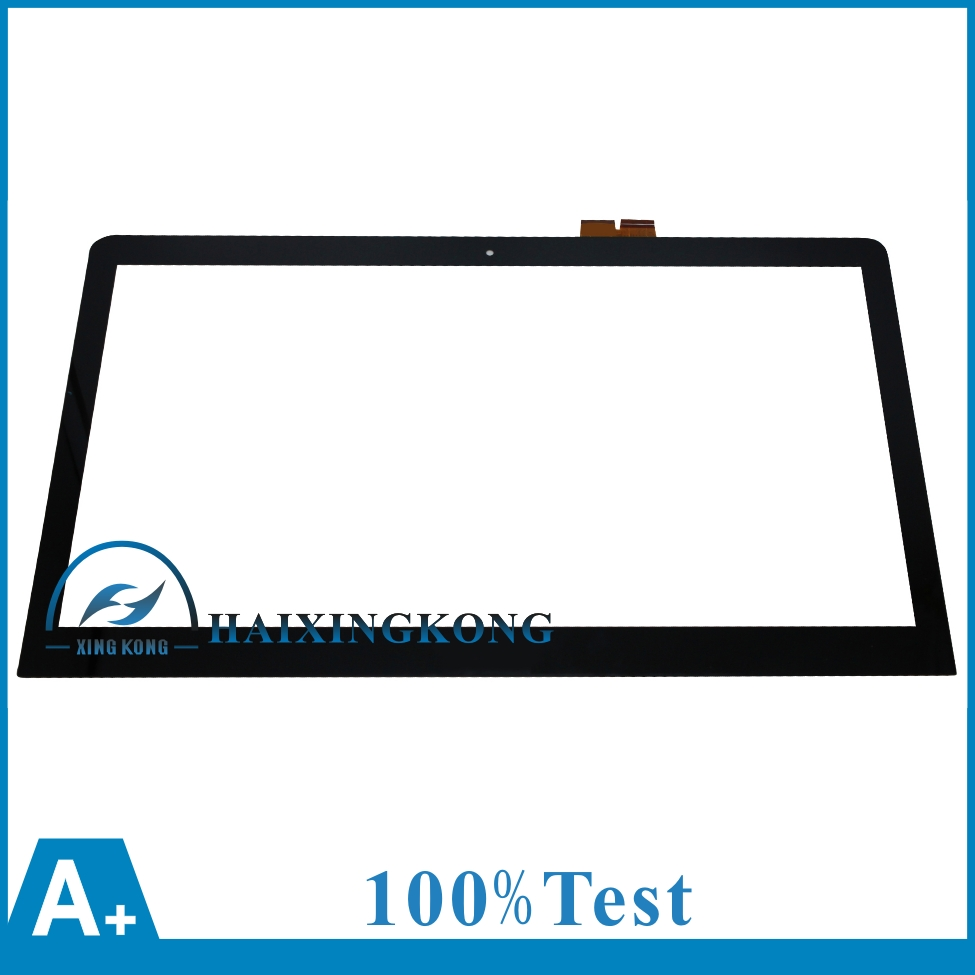 """15.6"""" For Sony Vaio SVF15A Series Laptop Touch Screen Glass Lens Panel With Digitizer Replacement Parts 69.15I03.T02 L156fgt01.1"""