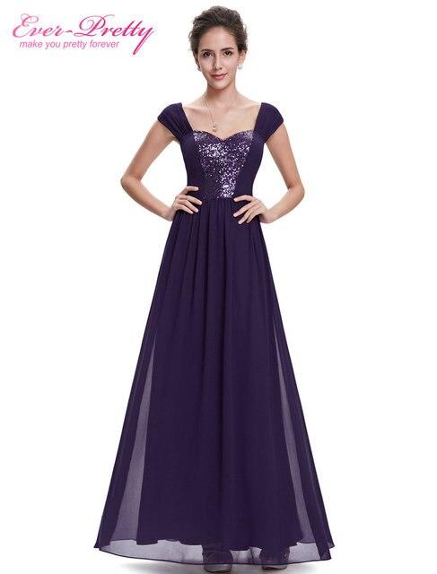 Ausverkauf] Abendkleid Haupt Recht HE08571PP Frauen Kleid Lila ...