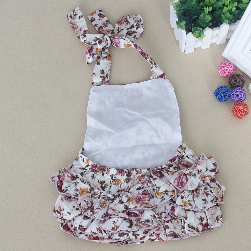 404bc245d Buy Ruffled Baby Girl Bubble Bloomer Romper Children Clothes Cut ...
