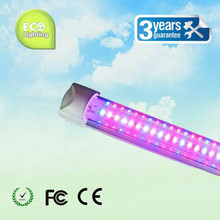 Wholesale 30pcs T8 600mm LED tube grow light integrated lighting for garden green house planten red 620~630nm blue 460~470nm