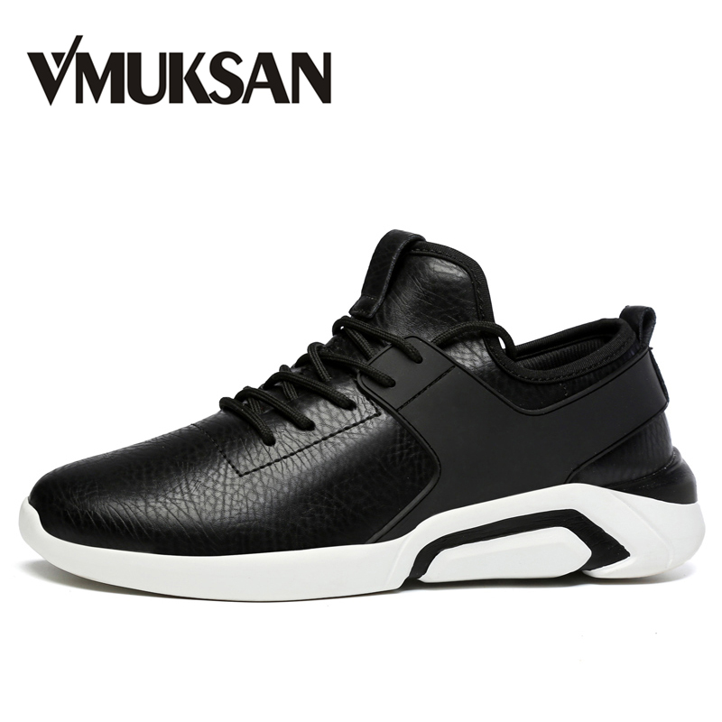 VMUKSAN Brand New Shoes Men Big Size 39-48 Mens Shoes Casual Sneakers Fashion Designer Shoes Lace Up Flats Man brand new a155 6 48 288