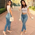 Stylish Women Ladies High-Waisted Denim Pencil Trouser Slim Long Jeans Pants Hot