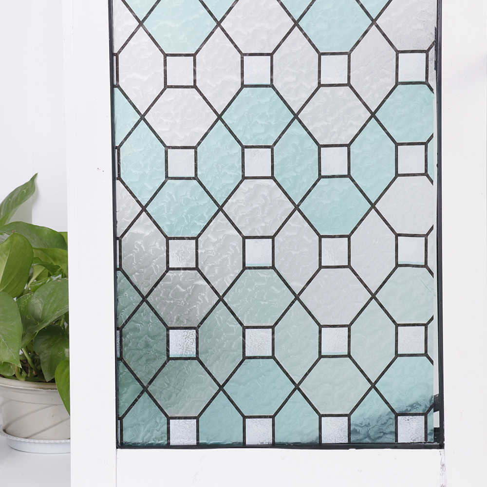 Sunice 2d Printed Static Cling Window Film Stained Glass Paper Decorative Frosted Vinyl Factory Price Bz95 Y011 Aliexpress