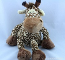 cute stuffed giraffe toy plush lovely jungle giraffe doll gift about 35cm