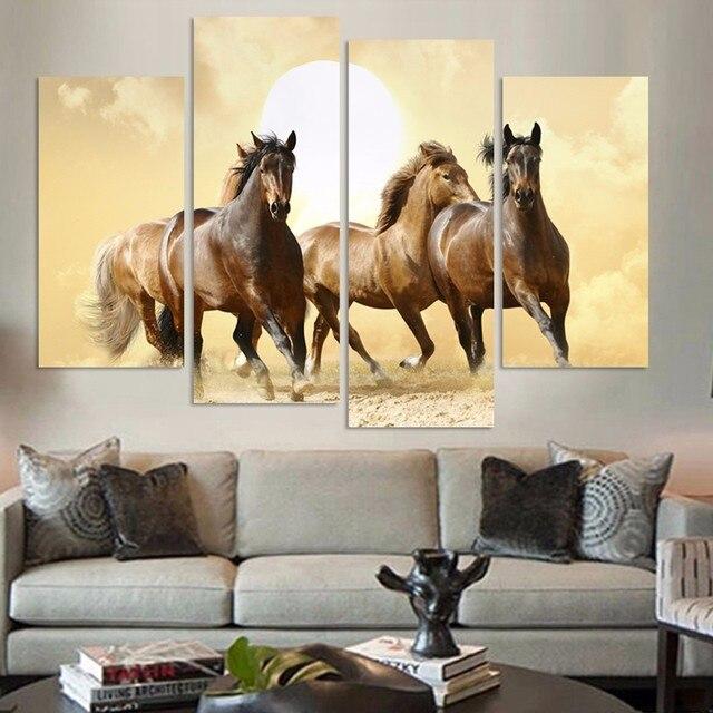 Prind Moderne Wohnzimmer Schlafzimmer Wand Dekor Dekoration Pferd