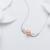 Pérola de água doce Colar de Pingente de 925 Mulheres de Prata, Moda jóias Pingentes de Pérolas Naturais Presente de Aniversário da Filha de Branco 8-9mm
