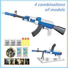 AK47 Elite Soft Bullet live CS plastic ABS font b Toy b font gun Sniper Rifle