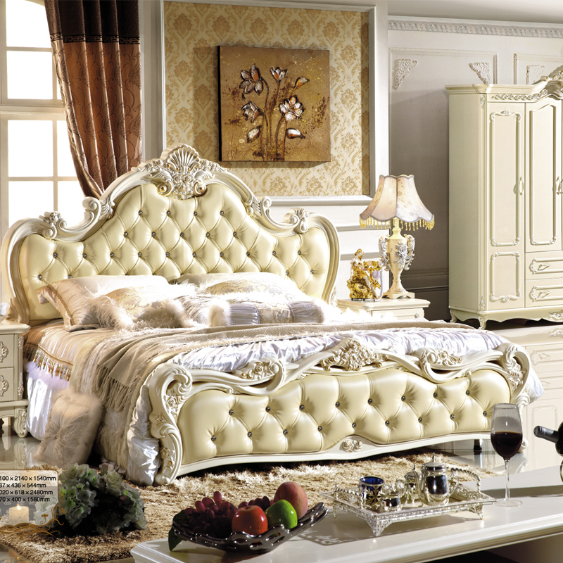 Bedroom Chairs Cheap: Cheap Furniture Classic Style Bedroom Bed-in Bedroom Sets