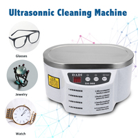 600 Ml Ultrasonic Cleaner Jewelry Glasses Circuit Board Cleaning Machine Intelligent Control Ultrasonic Cleaning Ultrasonic Bath