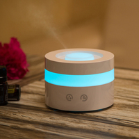 2018 Hot Portable Air Humidifier 3MHz Ultrasonic 7 Colors Night LED Oil Diffuser Kbaybo Household Aroma