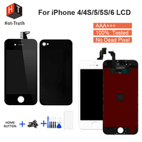 Hot-Truth Grade AAA+++LCD For iPhone 6 Display For iPhone 4 4S 5 5S Screen Touch Digitizer Assembly+Tools Screen Replacement