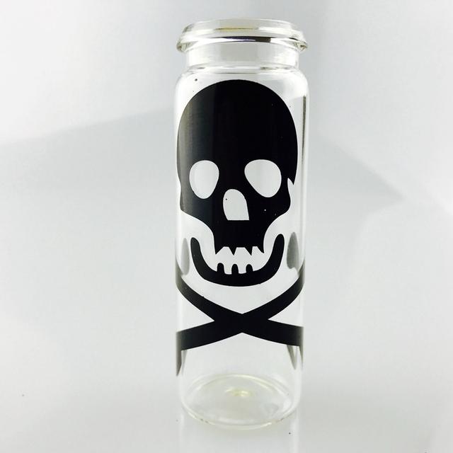 SWSMOK Glass Popular Bottle Water Pipe Portable Mini Hookah Shisha Tobacco Smoking Pipes Gift of Health Metal Tube Filter