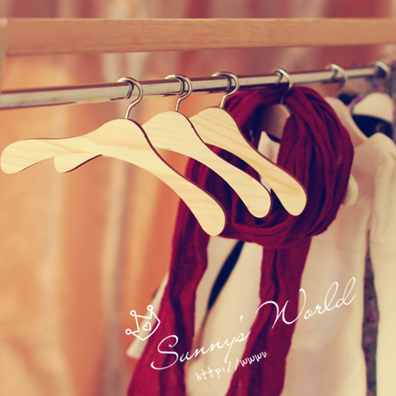 30PCS/LOT <font><b>BJD</b></font> Doll Accessory different Size Hangers For Doll <font><b>Clothes</b></font> image