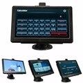 Unversal 7 pulgadas HD de Coches Navegación GPS Navigator SAT NAV FM Pantalla Capacitiva 4 GB Camión Vehículo GPS Mapas EE. UU.