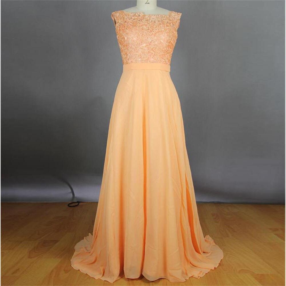 Peach color dresses women