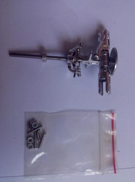 Pièces de mise à niveau de tête de rotor en aluminium de HM-V120D02S en métal CNC de Walkera V120D02S