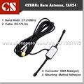 Всего продажи 433 МГц Длинной Антенны Диапазона 433 мГц антенна Радиолюбителей SMA ВИЛКА СОЕДИНИТЕЛЯ 3 м кабель бесплатная доставка