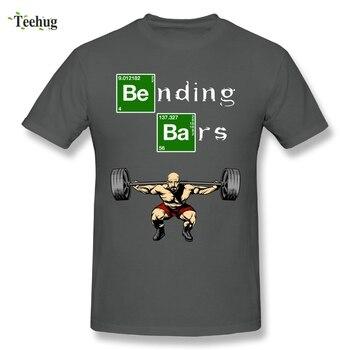 Cool Man Bending Bars Walter White Breaking Bad T-Shirt Comfortable Leg Days Cotton T Shirt