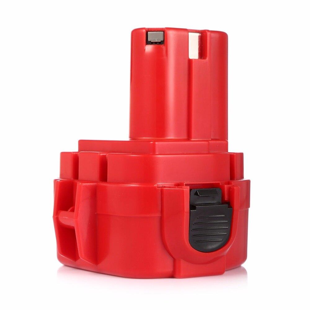 Powerextra 2000mAh 12v Ni-CD Replacement Battery For Makita Power Tools 1220 1222 1233 1234 192681-5 192 696-2 638347-8