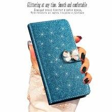 Лучший!  ZOKTEEC Мода Bling Алмазный Блеск PU Флип Кожаный Чехол для Samsung Galaxy J1 2016 J5 J7 2017