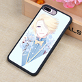 Mystic Messenger Anime Printed Soft Rubber Mobile Phone Cases Accessories For iPhone 6 6S Plus 7 7 Plus 5 5S 5C SE 4 4S Cover