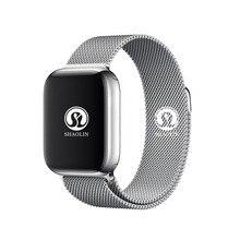 스마트 시계 4 심장 박동 스마트 시계 케이스 애플 아이폰 안드로이드 전화 IWO 5 6 업 그레 이드 아니 애플 시계 Smartwatch 42mm
